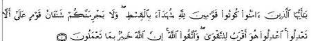 Al-Maidah8