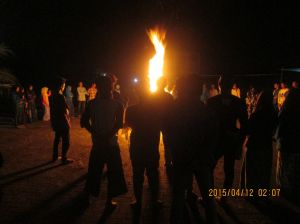 malam pengukuhan PKD PMII Ngalah Universitas Yudharta Pasuruan